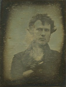 The earliest known photographic selfie